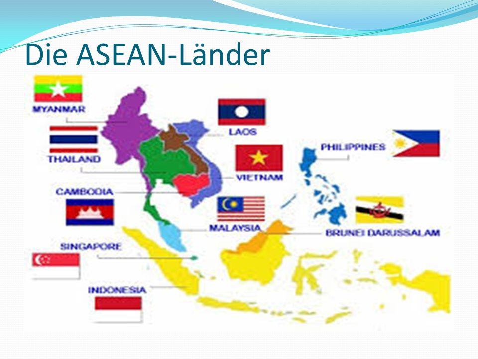 Die ASEAN-Länder