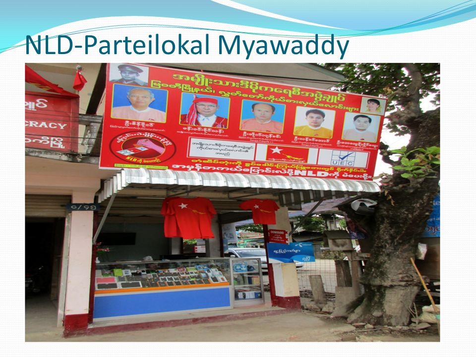 NLD-Parteilokal Myawaddy