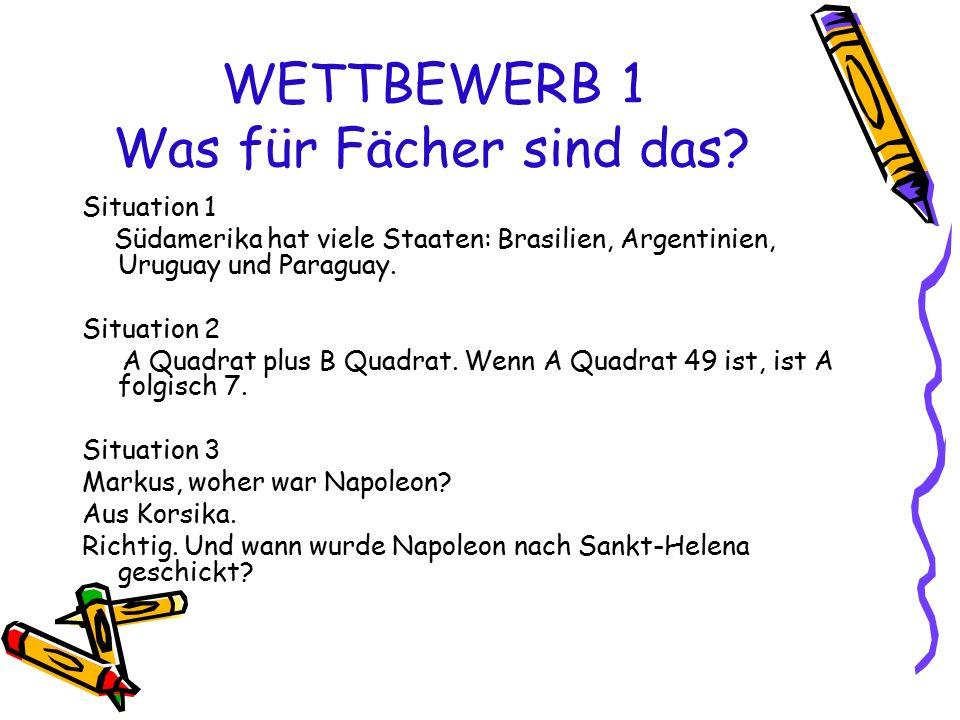 WETTBEWERB 6 Deutsche Äquivalente book-family- bread- fish-school- nose- coffee-football- garden- milk-chocolate- friend- water-apple- house-