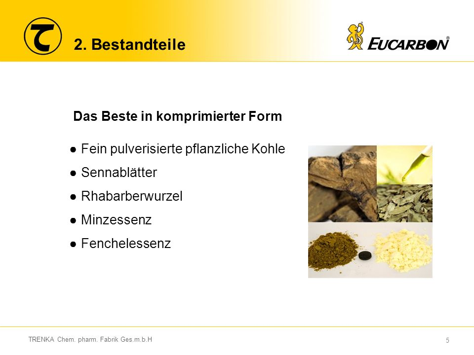 6 TRENKA Chem.pharm. Fabrik Ges.m.b.H 2.