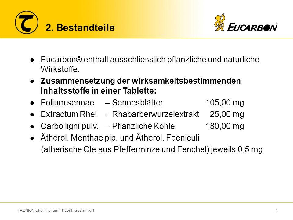37 TRENKA Chem.pharm. Fabrik Ges.m.b.H 8.
