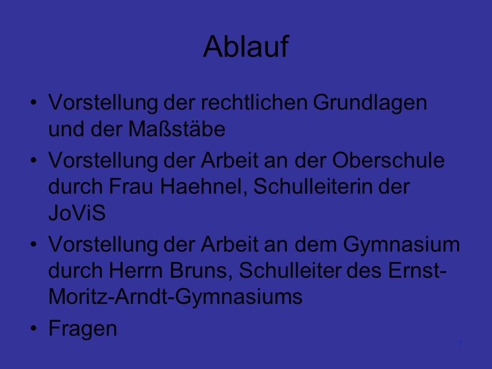 3 Wahl der Schullaufbahn – Rechtliche Vorgaben Die Grundschule bietet im 4.