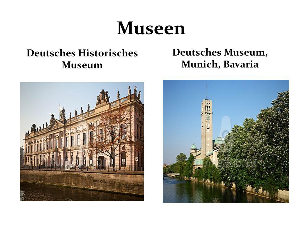 Museen Deutsches Historisches Museum Deutsches Museum, Munich, Bavaria