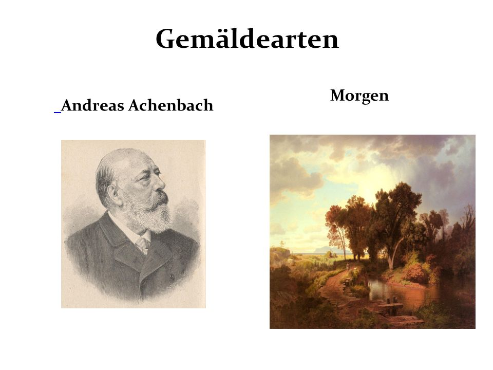 Gemäldearten Andreas Achenbach Morgen