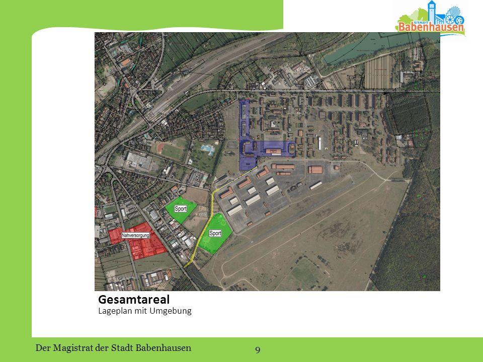 Der Magistrat der Stadt Babenhausen 9 Gesamtareal Lageplan mit Umgebung