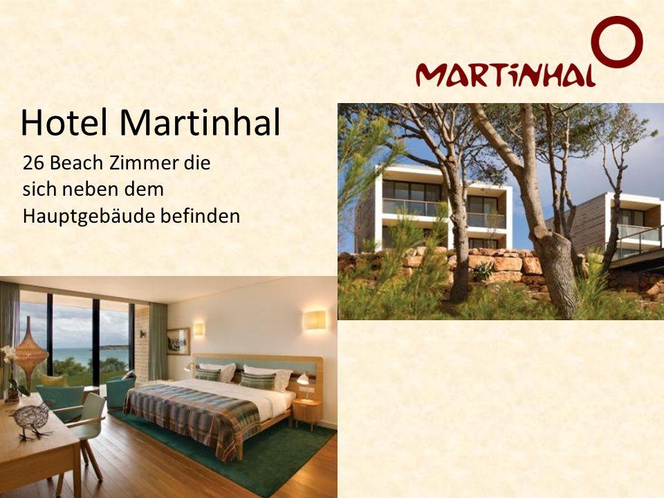 Hotel Martinhal 26 Beach Zimmer die sich neben dem Hauptgebäude befinden