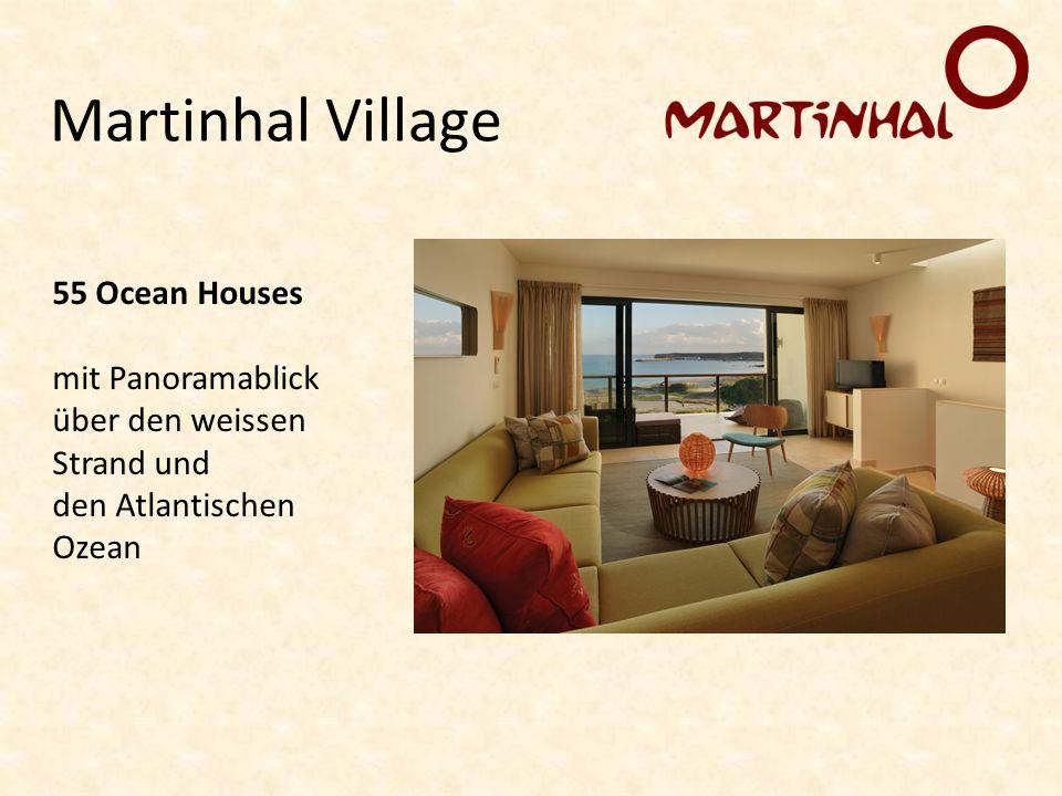 Martinhal Village 55 Ocean Houses mit Panoramablick über den weissen Strand und den Atlantischen Ozean