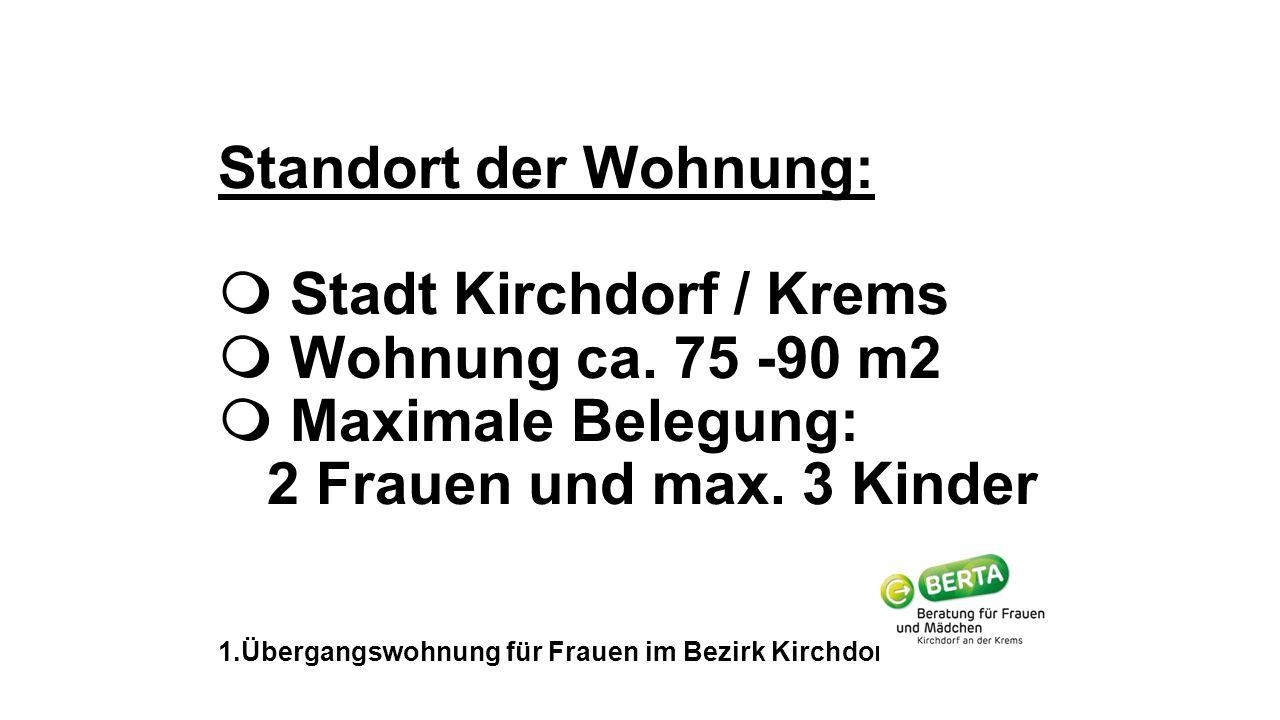 Standort der Wohnung:  Stadt Kirchdorf / Krems  Wohnung ca.