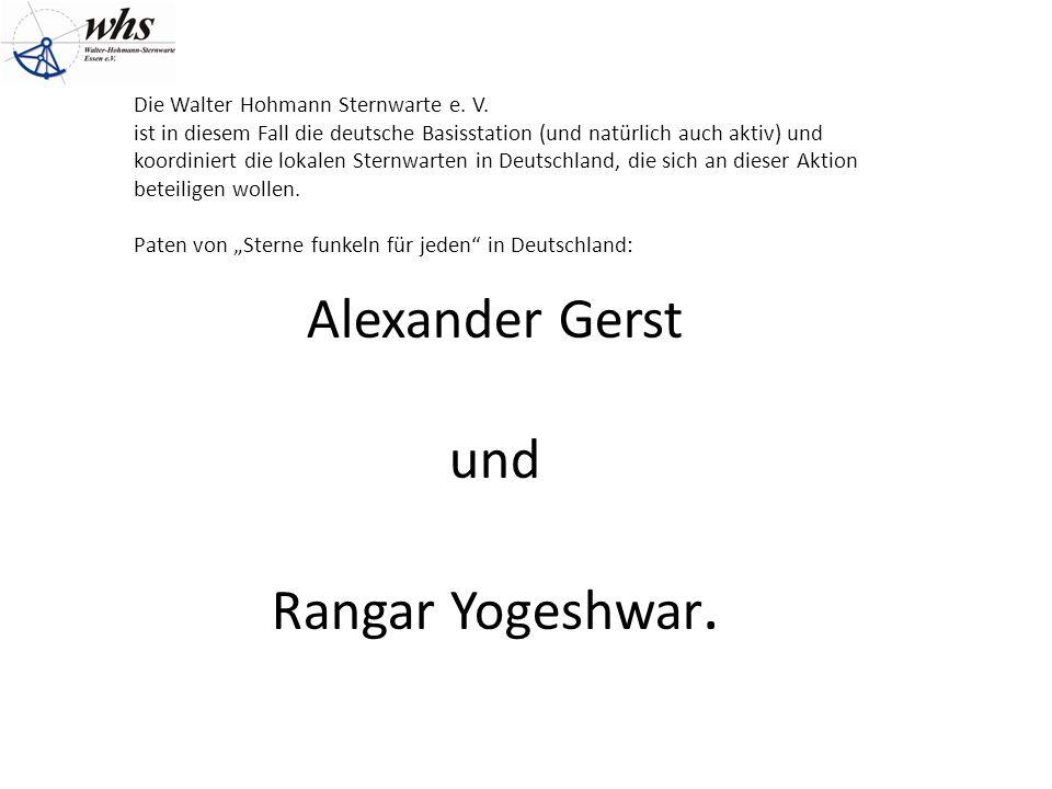 Die Walter Hohmann Sternwarte e. V.