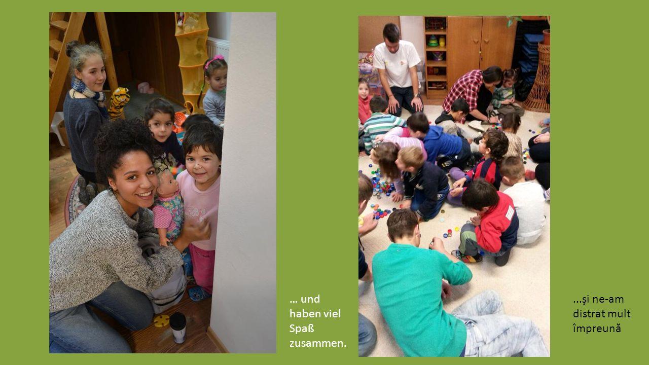 Besuch der Kinder im Bildungszentrum Integretto in Ardud În vizită la copiii din centrul Integretto Ardud