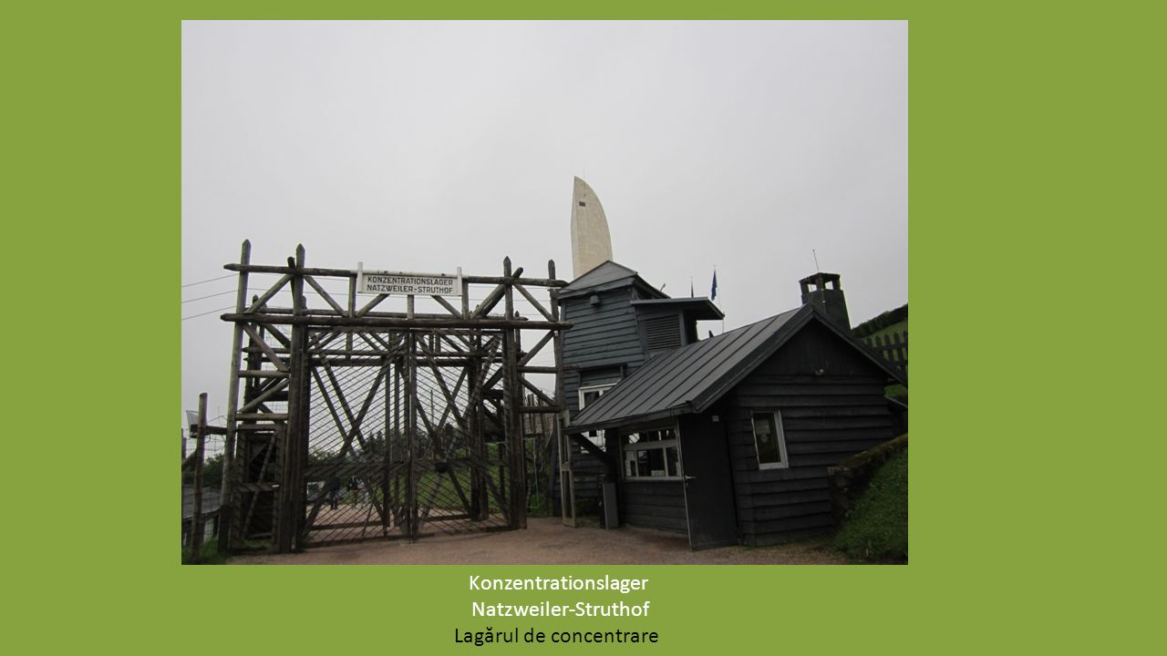 Auswahl von Texten und Augenzeugenberichten für die CD und Vorbereitung auf die Fahrt ins Konzentrationslager Natzweiler-Struthof Alegerea textelor şi