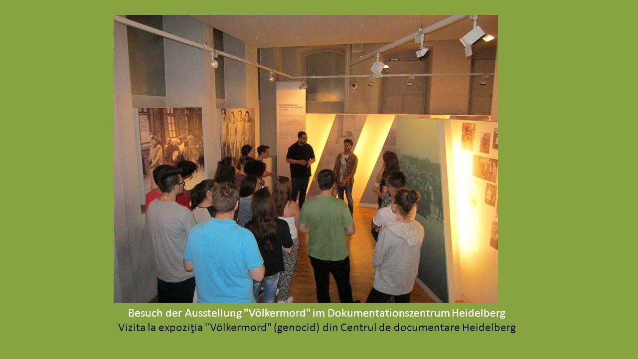 Workshop zur Sensibilisierung von vorurteilsbewussten Handlungen gegenüber Sinti und Roma im RomnoKher in Mannheim Workshop de sinsibilizare- Prejudec