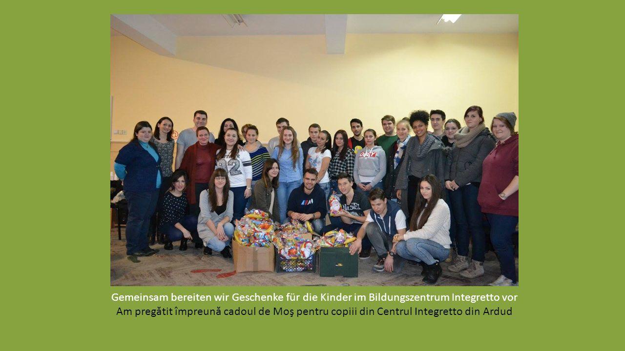 """Sensibilisierungs-Workshop zum Thema """"Negative und positive Diskriminierung"""" Workshop de sensibilizare la tema """"Discriminare pozitivă şi negativă"""""""