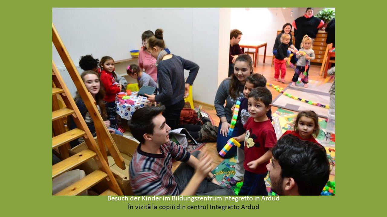 Gemeinsam bereiten wir Geschenke für die Kinder im Bildungszentrum Integretto vor Am pregătit împreună cadoul de Moş pentru copiii din Centrul Integre