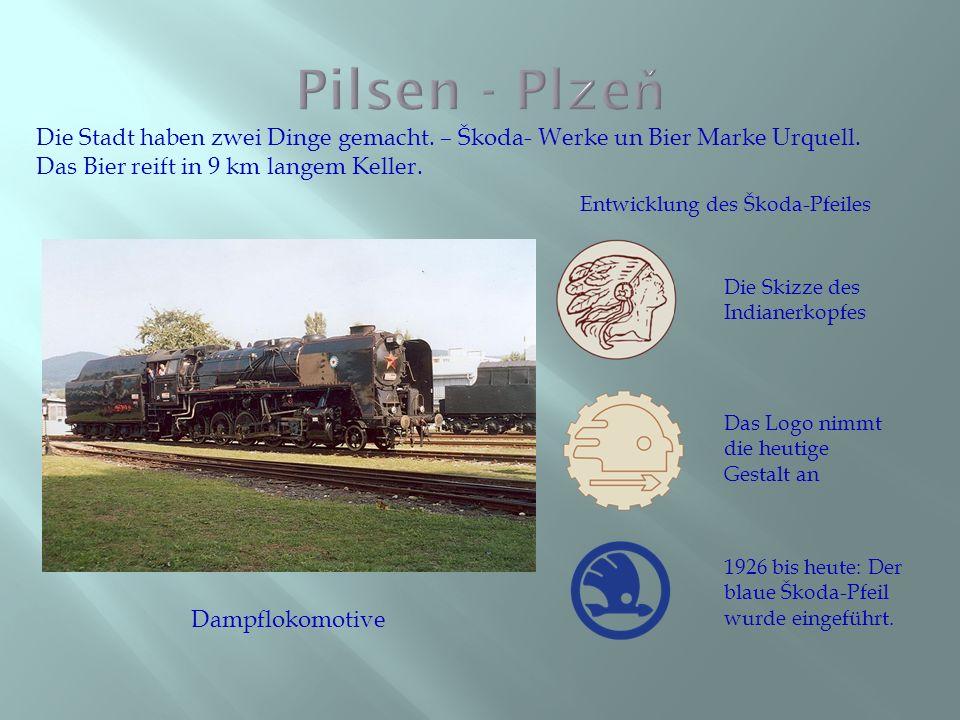 Pilsner Urquell ist ein seit 1842 in Pilsen von Plzeňský Prazdroj produziertes Bier.