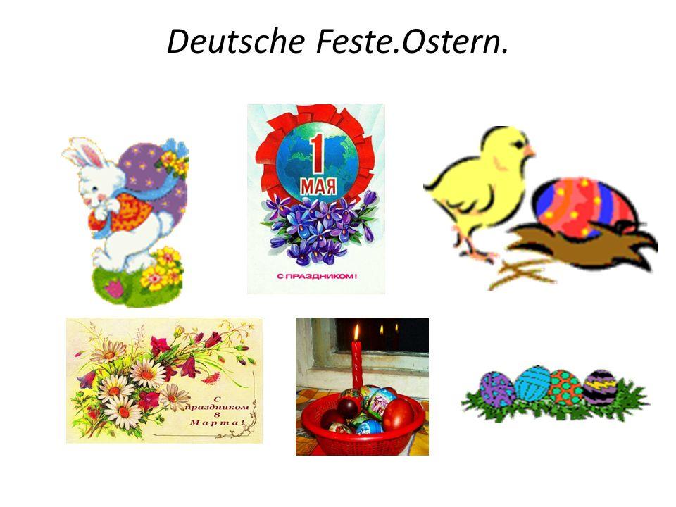 Deutsche Feste.Ostern.