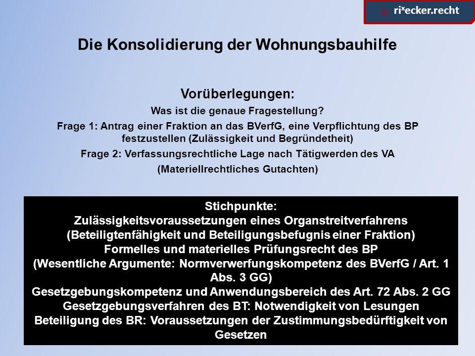 ϱ.ri x ecker.recht Stichpunkte Materielle Verfassungsmäßigkeit Schutzbereich des Art.