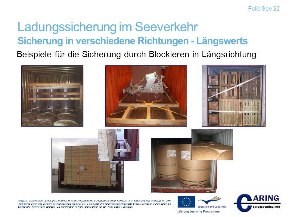 CARING wird teilweise durch das Leonardo da Vinci Programm der Europäischen Union finanziert. In Finland wird das Leonardo da Vinci Programme durch da