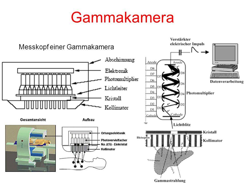 Gammakamera Messkopf einer Gammakamera