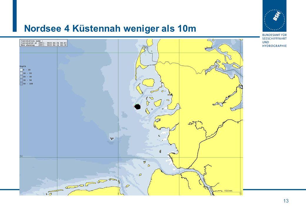 Nordsee 4 Küstennah weniger als 10m 13