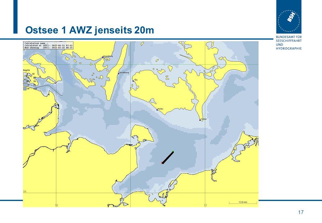 Ostsee 1 AWZ jenseits 20m 17