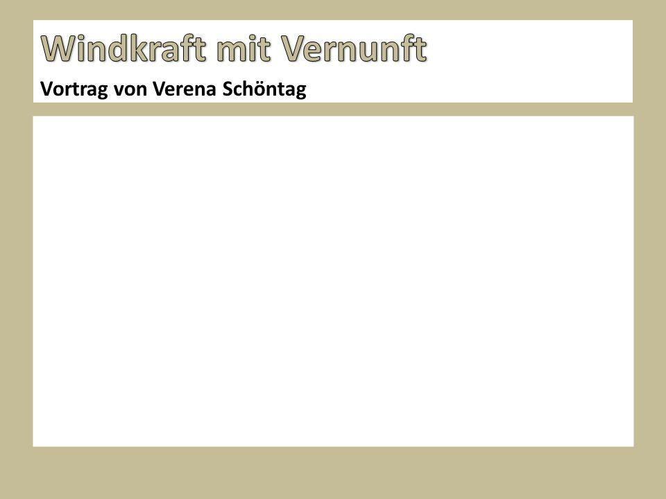 Vortrag von Verena Schöntag