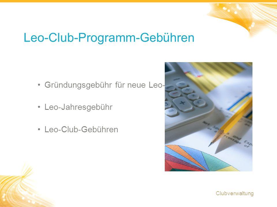 23 Leo Club-Verwaltung: Kleingruppen-Diskussion Clubverwaltung Welchen Herausforderungen sehen Sie sich momentan als Leo-Club-Berater gegenüber.