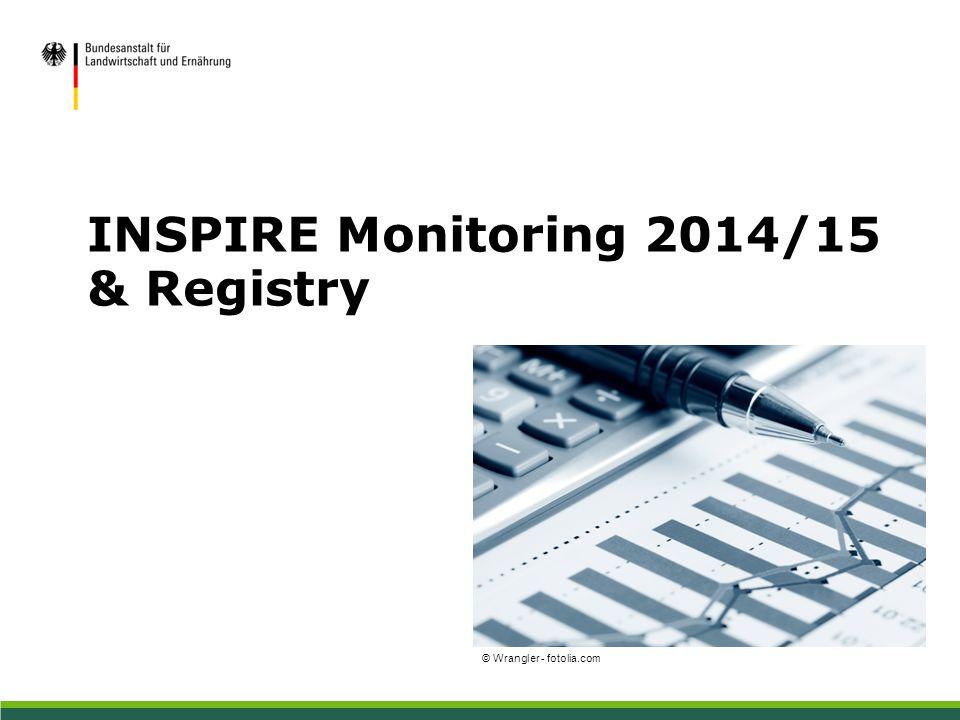 INSPIRE Monitoring 2014/15 & Registry © Wrangler - fotolia.com