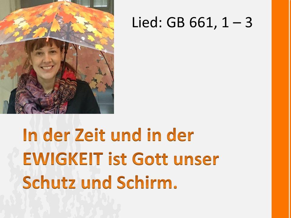Lied: GB 661, 1 – 3