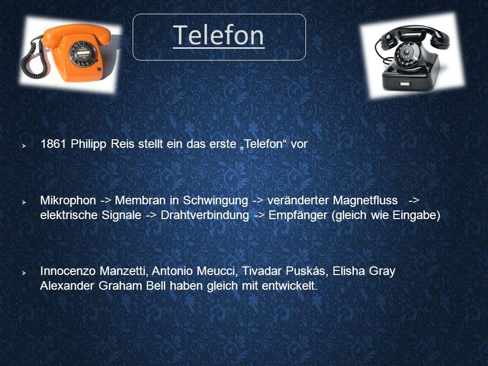 Quellen de.wikipedia.org/wiki/Telekommunikation telekom.com/unternehmensgeschichte blog.base.de/die-geschichte-der-telekommunikation-1 http://www.satellitentelefon.org/satellitentelefone-funktion/