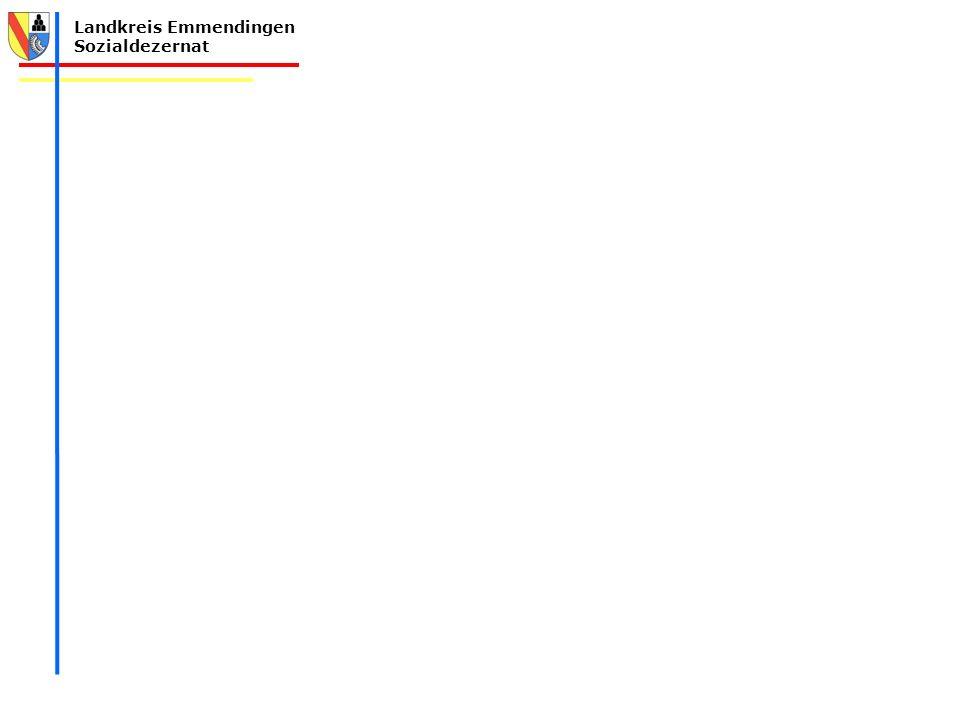 Landkreis Emmendingen Sozialdezernat Teilhabeplanung Landkreis Emmendingen 2015 - 2030 Kreisseniorenbericht Bedarfserhebung und Hinweise zur strukturellen Weiterentwicklung (Modul III) Erstellt durch: Seniorenbüro, Frau Reek