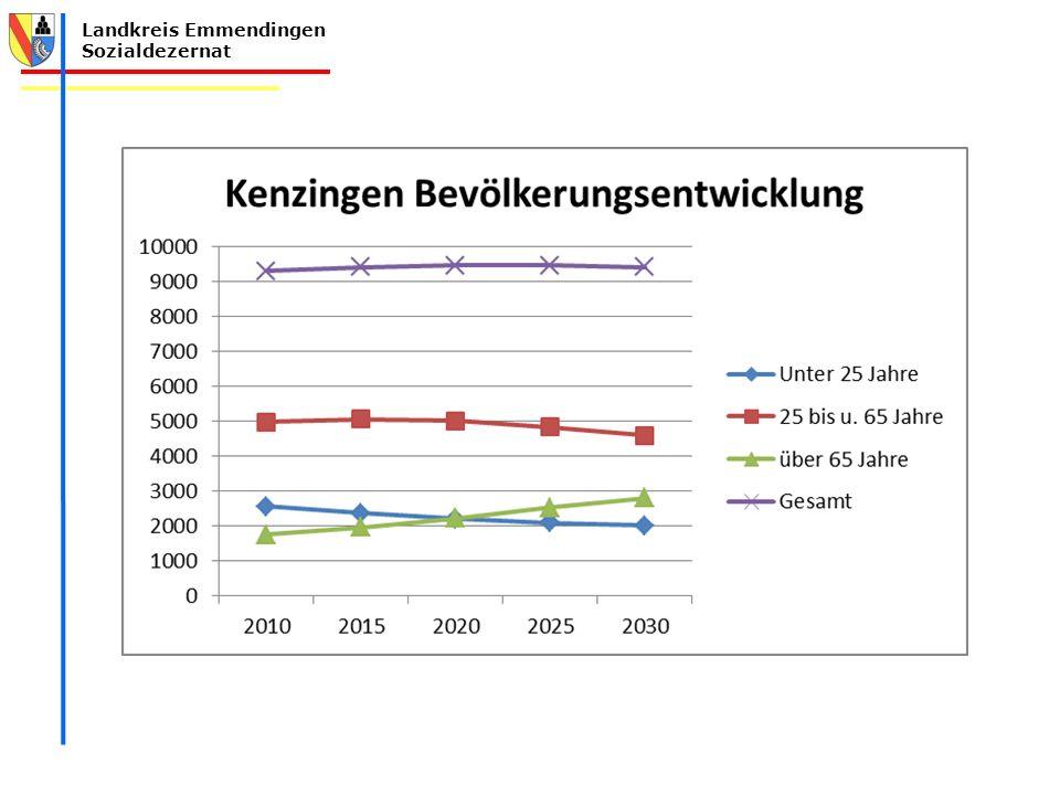 Landkreis Emmendingen Sozialdezernat Unterstützung bei der Förderung von bürgerschaftlichem Engagement  bereits erfolgt in Riegel und Emmendingen Unterstützung beim Aufbau von Angebotsstrukturen –Bsp.