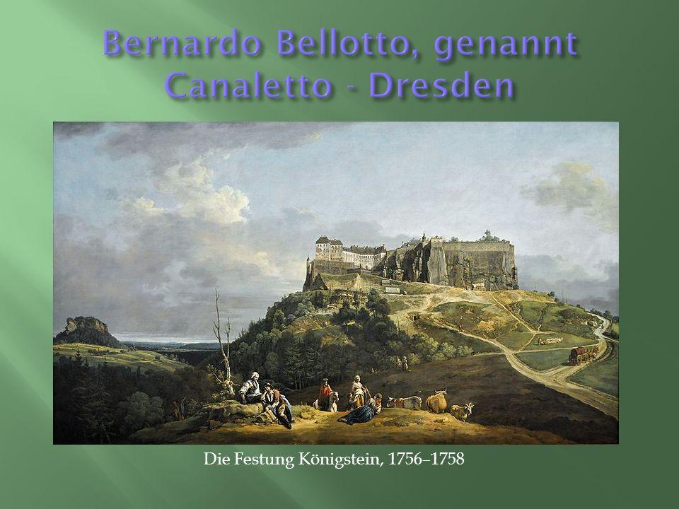 Die Festung Königstein, 1756–1758