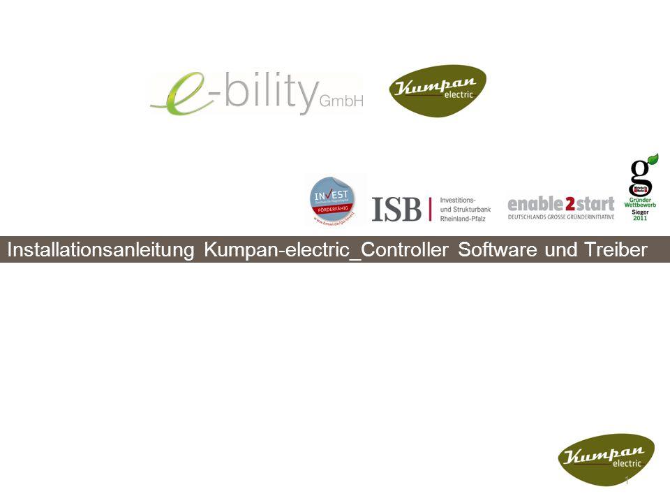 Installationsanleitung Kumpan-electric_Controller Software und Treiber 1