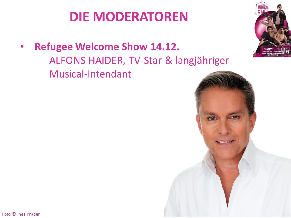DIE MODERATOREN Refugee Welcome Show 14.12.