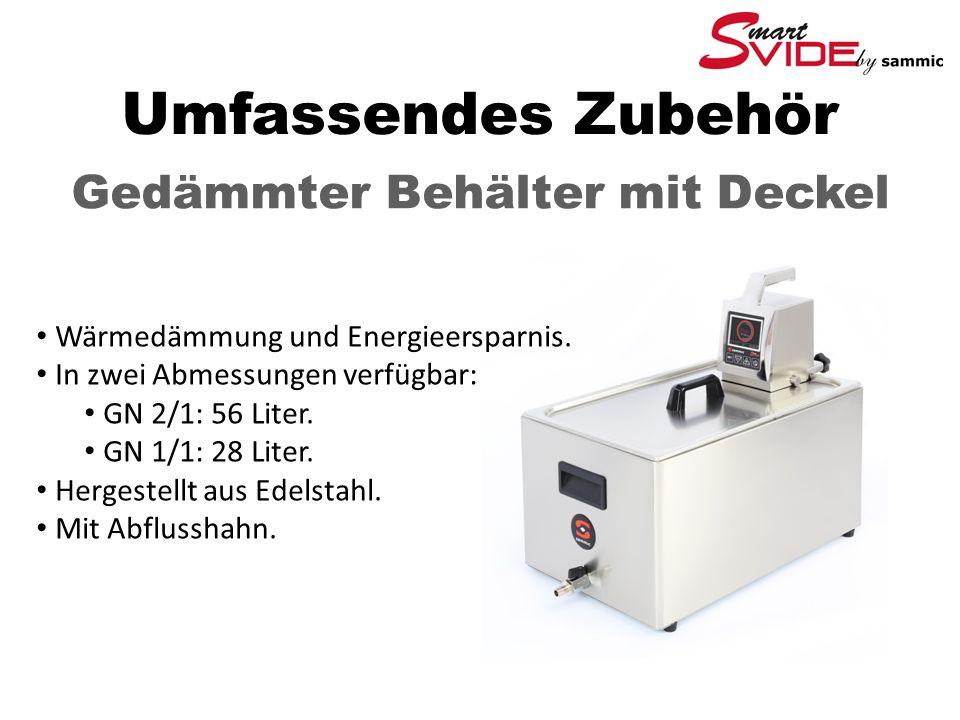 Umfassendes Zubehör Gedämmter Behälter mit Deckel Wärmedämmung und Energieersparnis.