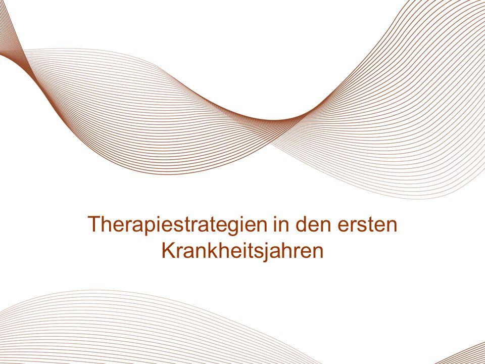 Therapiestrategien in den ersten Krankheitsjahren