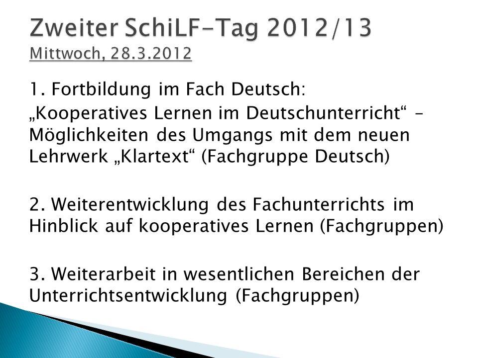 """Kooperatives Lernen im Deutschunterricht – inkl."