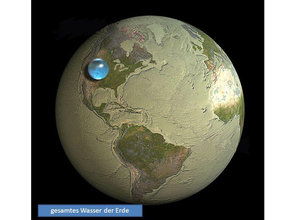 gesamtes Wasser der Erde