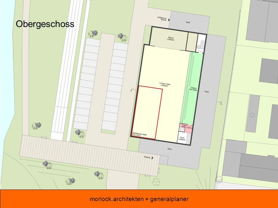 morlock.architekten + generalplaner Obergeschoss