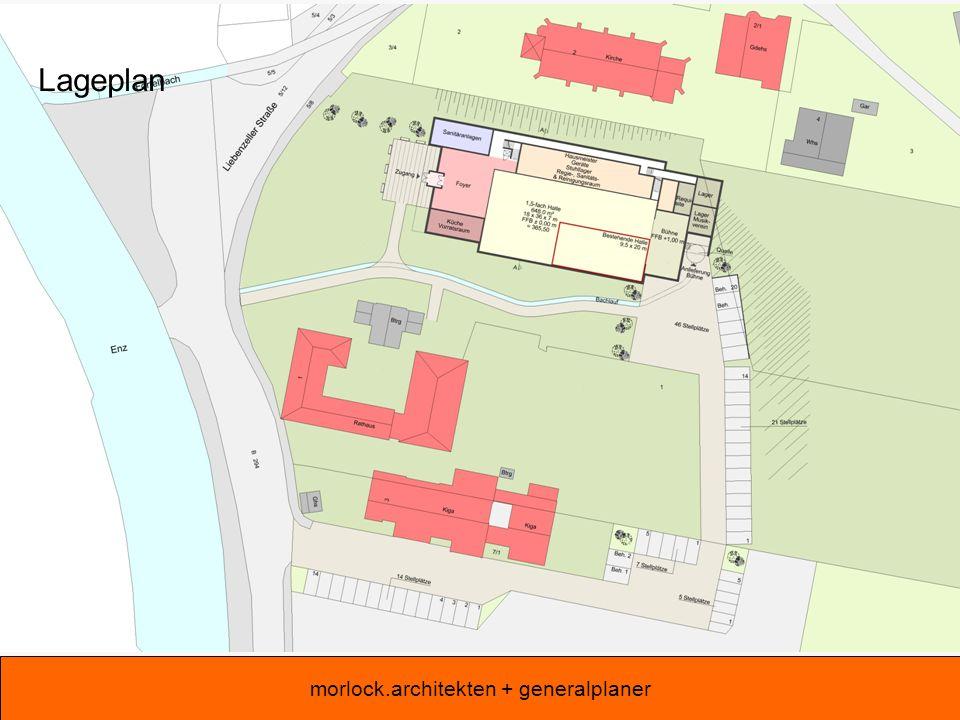 morlock.architekten + generalplaner Erdgeschoss