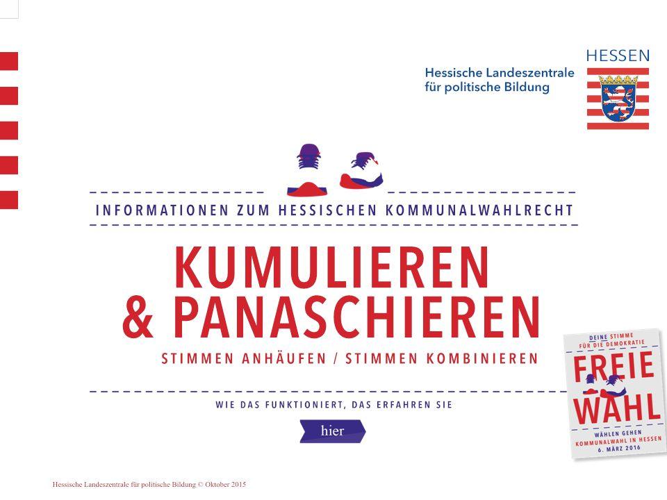 2 Ihr Stimmzettel sieht z.B. so aus: