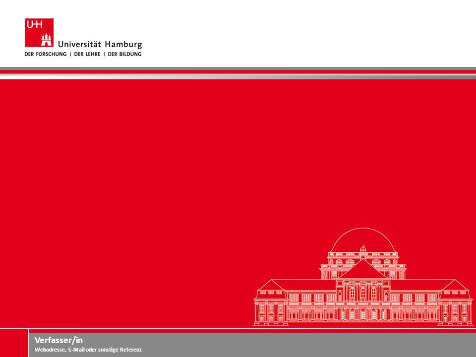Verfasser/in Webadresse, E-Mail oder sonstige Referenz Zahlen und Fakten Drittgrößte Universität Deutschlands ca.