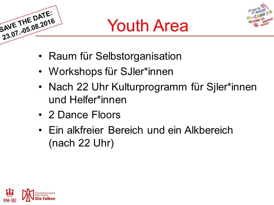 SAVE THE DATE: 23.07.-05.08.2016 Helfer*innenschule Weiterbildung Sozialistische Erziehung im 21.