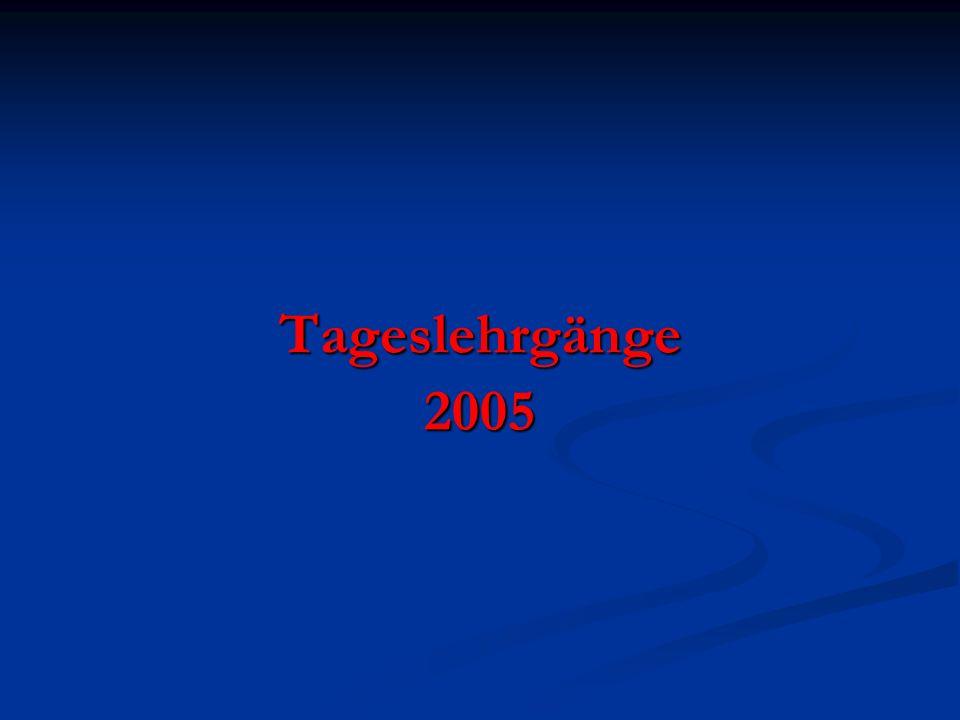 Tageslehrgänge2005