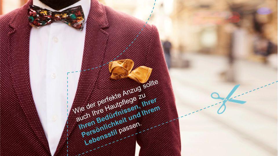 Wie der perfekte Anzug sollte auch Ihre Hautpflege zu Ihren Bedürfnissen, Ihrer Persönlichkeit und Ihrem Lebensstil passen.