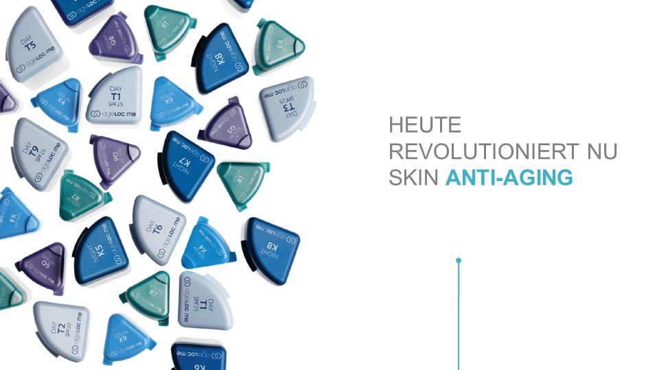 HEUTE REVOLUTIONIERT NU SKIN ANTI-AGING