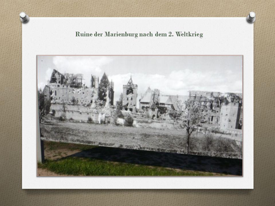 Marienburg (Malbork) Die Marienburg ist eine Ordensburg in der poln.