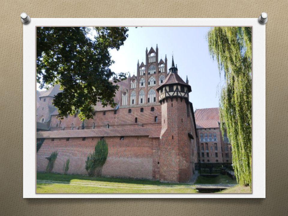 Ruine der Marienburg nach dem 2. Weltkrieg