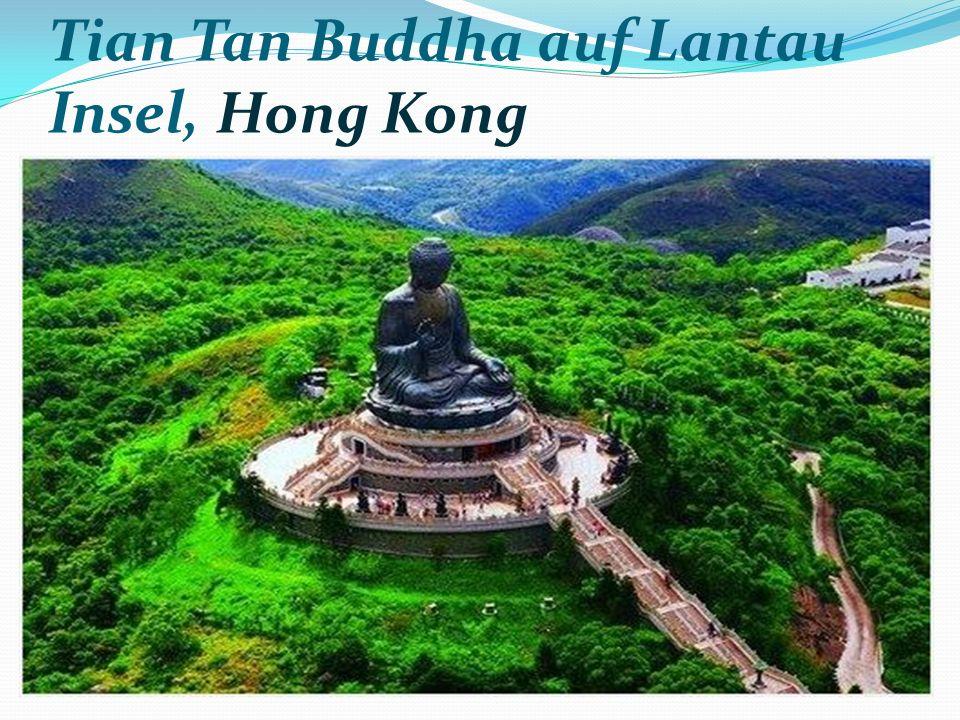 Tian Tan Buddha auf Lantau Insel, Hong Kong